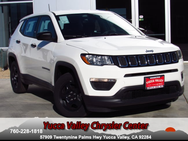 New 2018 Jeep Compass SPORT FWD Sport Utility in Yucca Valley