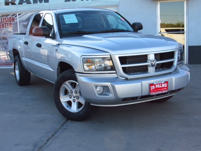 Used 2010 Dodge Dakota Bighorn/Lonestar Truck Crew Cab in Yucca Valley