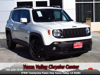 New 2018 Jeep Renegade ALTITUDE 4X2 Sport Utility in Yucca Valley