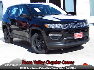 New 2019 Jeep Compass SPORT 4X4 Sport Utility in Yucca Valley