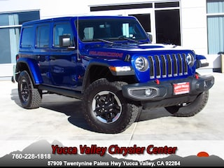 New 2018 Jeep Wrangler UNLIMITED RUBICON 4X4 Sport Utility in Yucca Valley