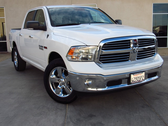 Used 2017 Ram 1500 Big Horn 4X4 Eco Diesel Truck Crew Cab in Yucca Valley