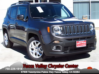 New 2018 Jeep Renegade LATITUDE 4X2 Sport Utility in Yucca Valley
