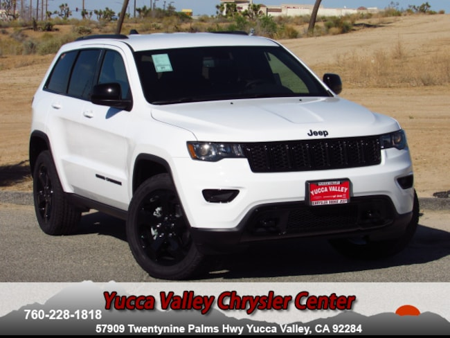 New 2018 Jeep Grand Cherokee UPLAND 4X4 Sport Utility in Yucca Valley