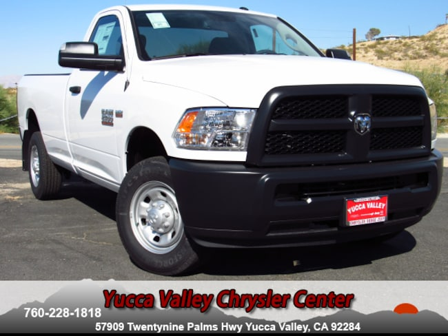 New 2018 Ram 2500 TRADESMAN REGULAR CAB 4X2 8' BOX Regular Cab in Yucca Valley