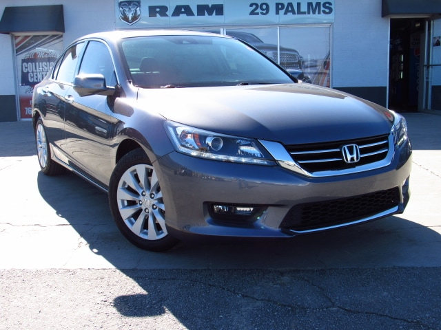 Used 2015 Honda Accord EX-L V-6 Sedan in Yucca Valley