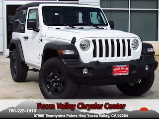 New 2018 Jeep Wrangler SPORT 4X4 Sport Utility in Yucca Valley