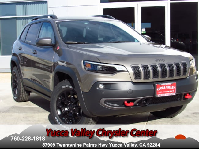 New 2019 Jeep Cherokee TRAILHAWK ELITE 4X4 Sport Utility in Yucca Valley