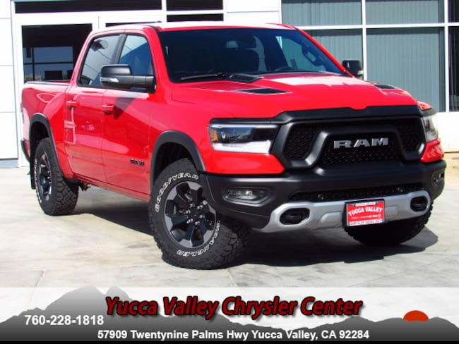 New 2019 Ram 1500 REBEL CREW CAB 4X4 5'7 BOX Crew Cab in Yucca Valley