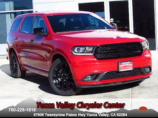 New 2018 Dodge Durango SXT PLUS RWD Sport Utility in Yucca Valley
