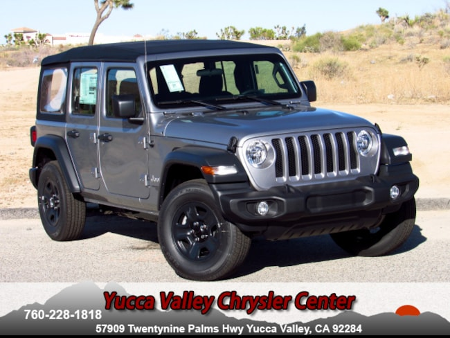 New 2018 Jeep Wrangler UNLIMITED SPORT 4X4 Sport Utility in Yucca Valley