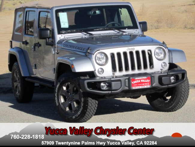 New 2018 Jeep Wrangler JK UNLIMITED GOLDEN EAGLE 4X4 Sport Utility in Yucca Valley