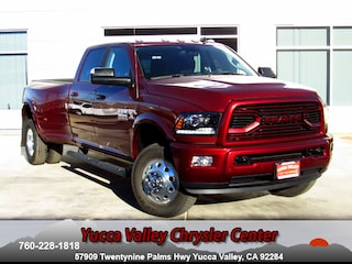 New 2018 Ram 3500 LARAMIE CREW CAB 4X4 8' BOX Crew Cab in Yucca Valley