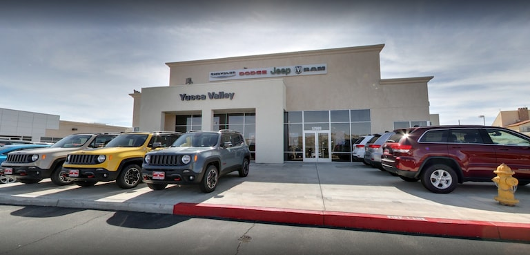 New & Used Jeep, Ram, Dodge, Chrysler Dealer in Yucca Valley