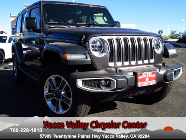 New 2018 Jeep Wrangler UNLIMITED SAHARA 4X4 Sport Utility in Yucca Valley