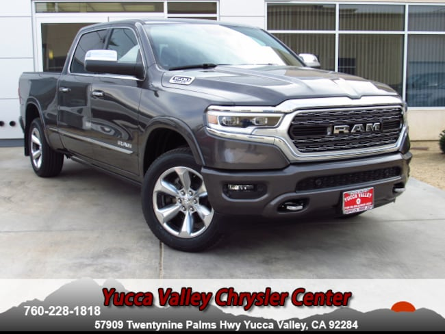 New 2019 Ram 1500 LIMITED CREW CAB 4X4 6'4 BOX Crew Cab in Yucca Valley