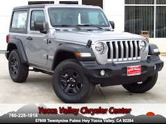 New 2019 Jeep Wrangler SPORT 4X4 Sport Utility in Yucca Valley