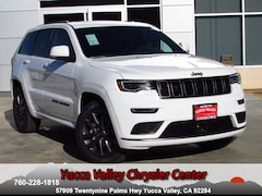 New 2019 Jeep Grand Cherokee HIGH ALTITUDE 4X4 Sport Utility in Yucca Valley