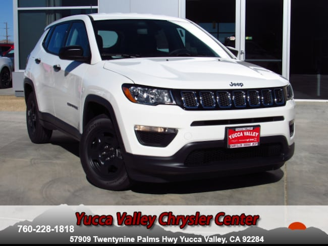 New 2019 Jeep Compass SPORT FWD Sport Utility in Yucca Valley