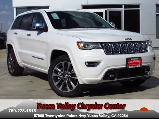 New 2018 Jeep Grand Cherokee OVERLAND 4X4 Sport Utility in Yucca Valley