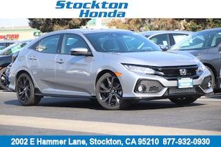 New 2018 Honda Civic Sport Touring Hatchback for sale in Stockton, CA at Stockton Honda