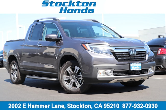 New 2019 Honda Ridgeline RTL-E AWD Truck Crew Cab for sale in Stockton, CA at Stockton Honda