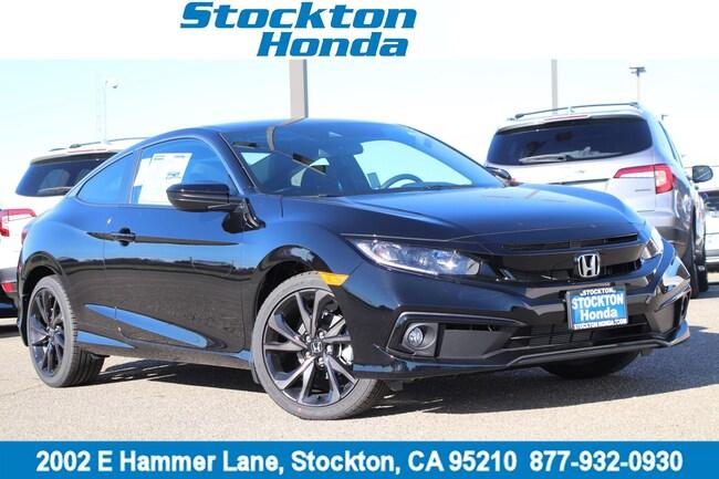 New 2019 Honda Civic Sport Coupe for sale in Stockton, CA at Stockton Honda