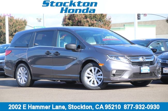 New 2019 Honda Odyssey LX Van for sale in Stockton, CA at Stockton Honda