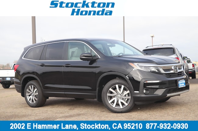 New 2019 Honda Pilot EX AWD SUV for sale in Stockton, CA at Stockton Honda