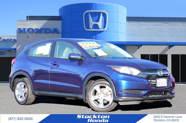 Certified Used 2017 Honda HR-V LX 2WD DEALER LOANER for sale at Stockton Honda in Stockton, CA