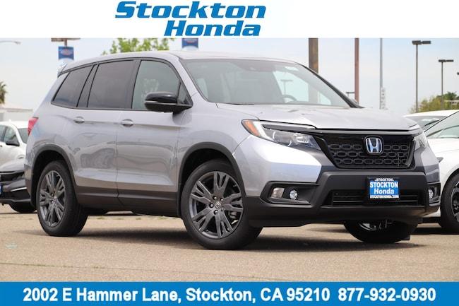New 2019 Honda Passport EX-L FWD SUV for sale in Stockton, CA at Stockton Honda