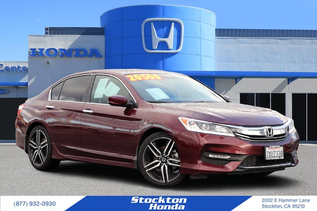 Certified Used 2017 Honda Accord Sport Sedan for sale at Stockton Honda in Stockton, CA