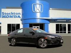 Used 2017 Honda Civic EX-T Sedan for sale in Stockton, CA at Stockton Honda
