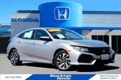 Used 2017 Honda Civic LX Hatchback for sale in Stockton, CA at Stockton Honda