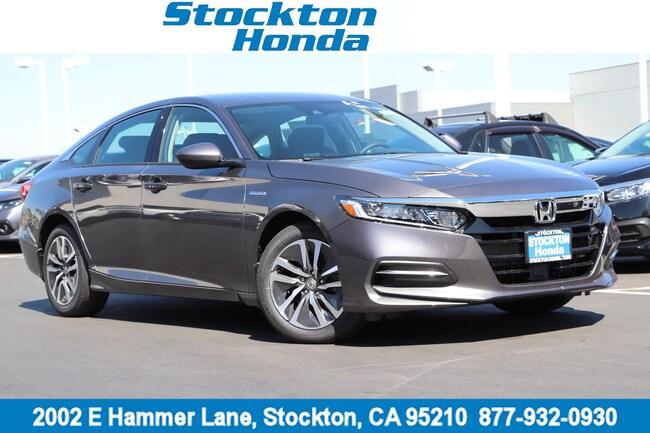 New 2019 Honda Accord Hybrid Sedan for sale in Stockton, CA at Stockton Honda