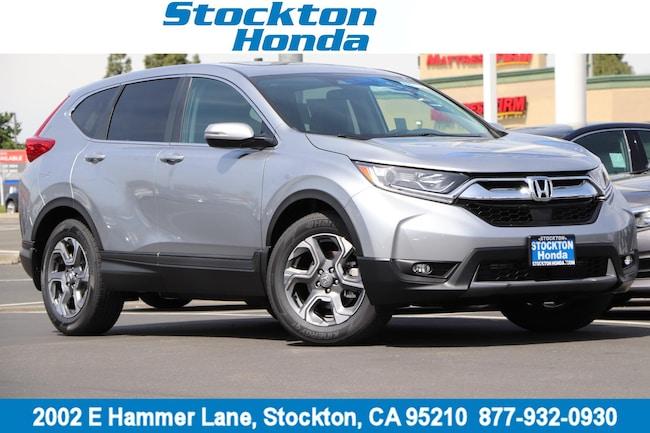New 2019 Honda CR-V EX 2WD SUV for sale in Stockton, CA at Stockton Honda