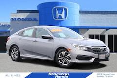Certified 2016 Honda Civic LX Sedan for sale at Stockton Honda in Stockton, California