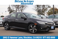 New 2018 Honda Civic Touring Sedan for sale in Stockton, CA at Stockton Honda