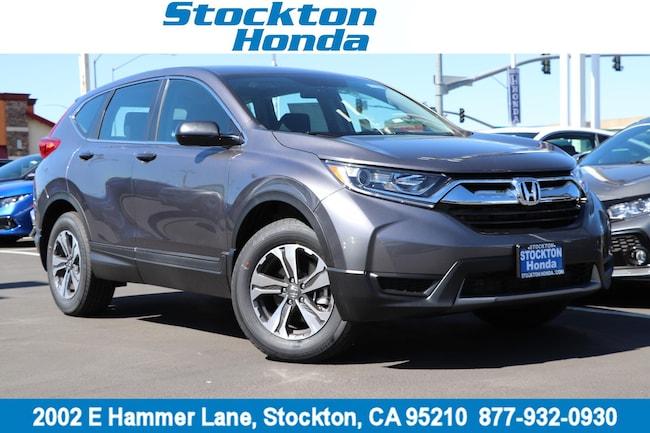 New 2019 Honda CR-V EX AWD SUV for sale in Stockton, CA at Stockton Honda
