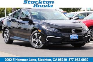 New 2019 Honda Civic EX Coupe for sale in Stockton, CA at Stockton Honda
