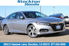 New 2018 Honda Accord EX Sedan for sale in Stockton, CA at Stockton Honda