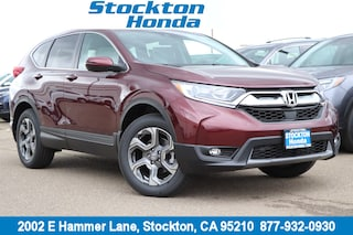 New 2019 Honda CR-V EX AWD SUV for sale in Stockton, CA at Stockton Honda