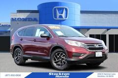 Certified 2016 Honda CR-V SE FWD SUV for sale at Stockton Honda in Stockton, California