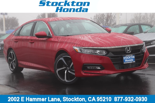 New 2019 Honda Accord Sport Sedan for sale in Stockton, CA at Stockton Honda