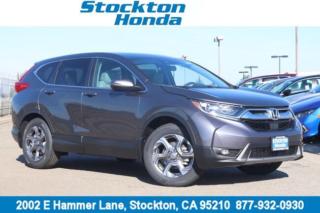 New 2019 Honda CR-V EX-L 2WD SUV for sale in Stockton, CA at Stockton Honda