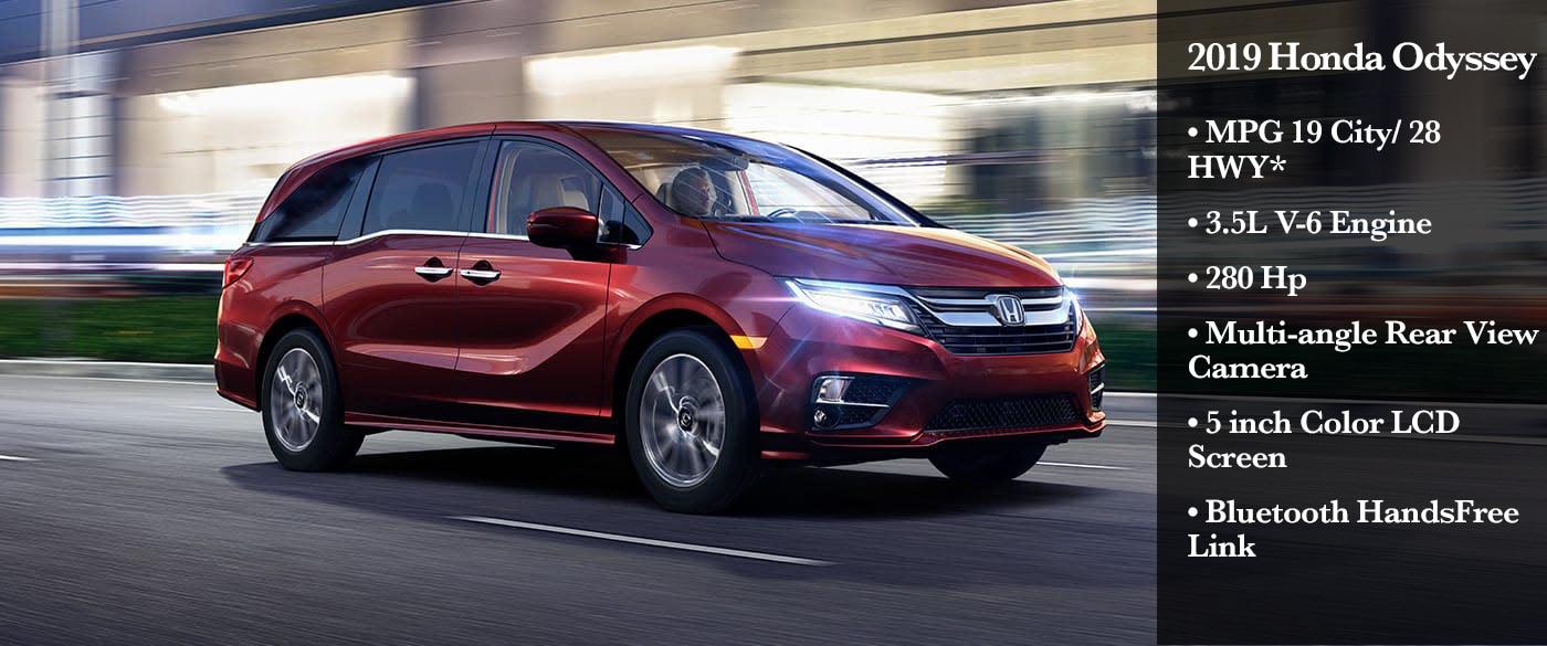 2019 Honda Odyssey Review And Release Date >> 2019 Honda Odyssey Specs Review Stockton Honda New Used Hondas