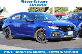 New 2018 Honda Civic Sport Hatchback for sale in Stockton, CA at Stockton Honda