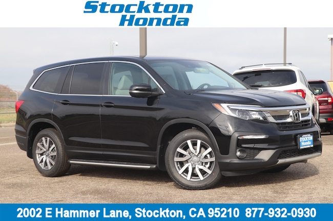 New 2019 Honda Pilot EX-L FWD SUV for sale in Stockton, CA at Stockton Honda