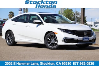 New 2019 Honda Civic EX Sedan for sale in Stockton, CA at Stockton Honda