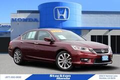 Used 2015 Honda Accord Sport Sedan for sale in Stockton, CA at Stockton Honda